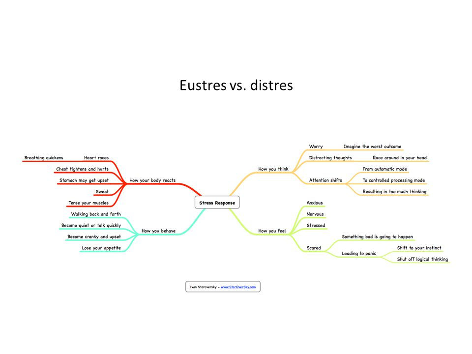 Eustres vs. distres
