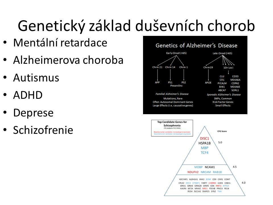 Genetický základ duševních chorob