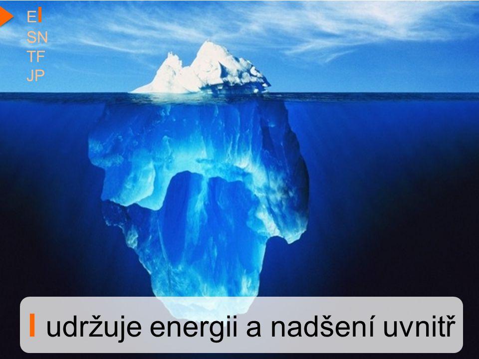 I udržuje energii a nadšení uvnitř