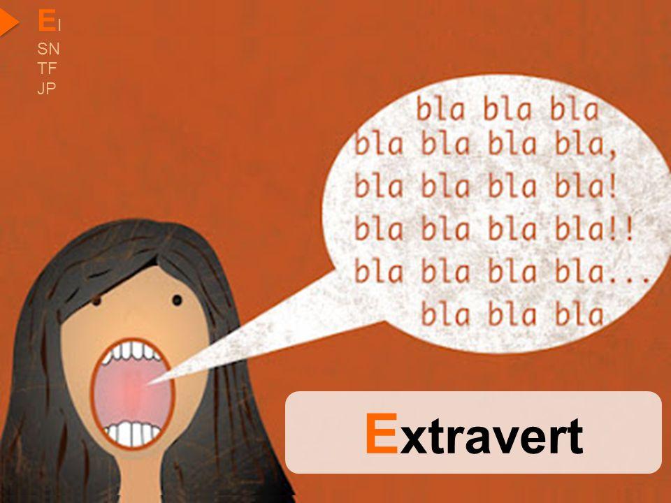 EI SN TF JP Extravert