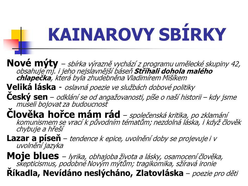 KAINAROVY SBÍRKY