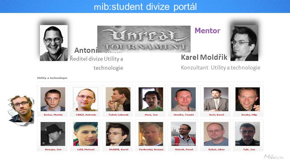mib:student divize portál