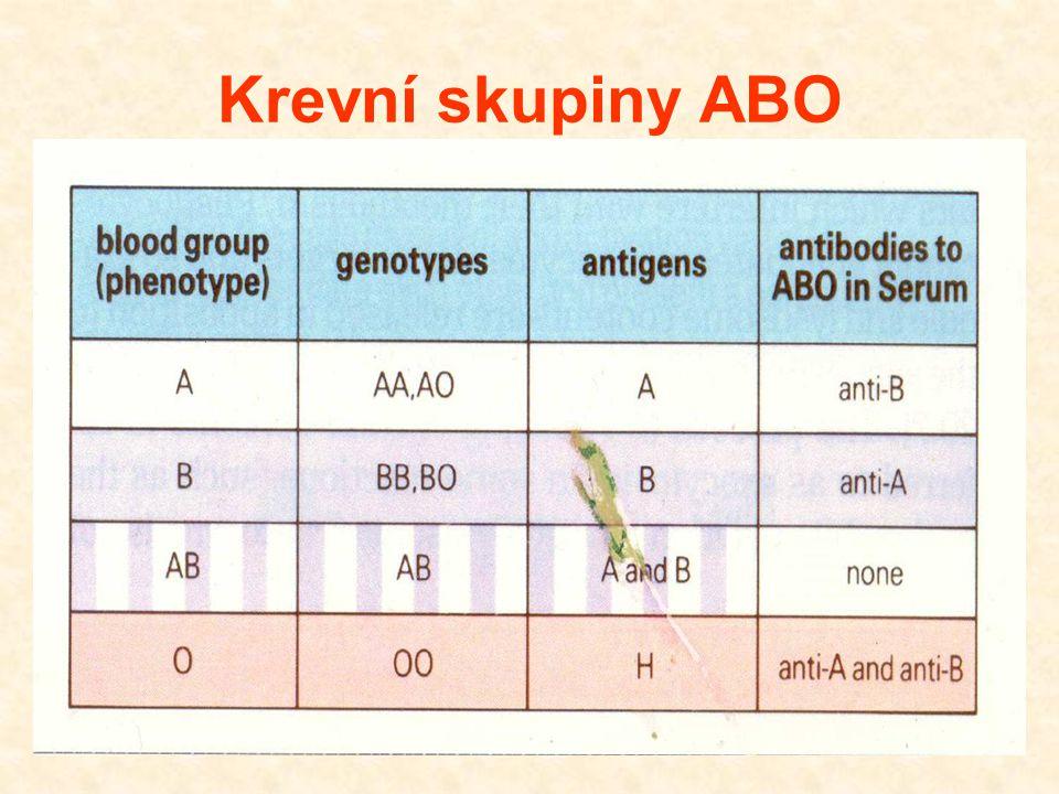Krevní skupiny ABO 29