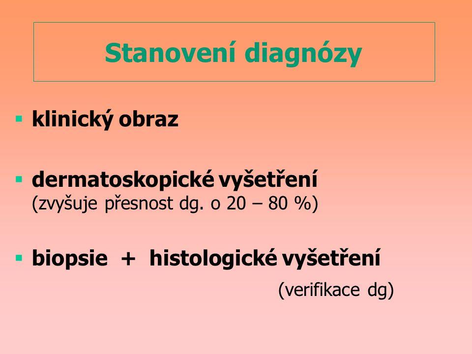 Stanovení diagnózy klinický obraz