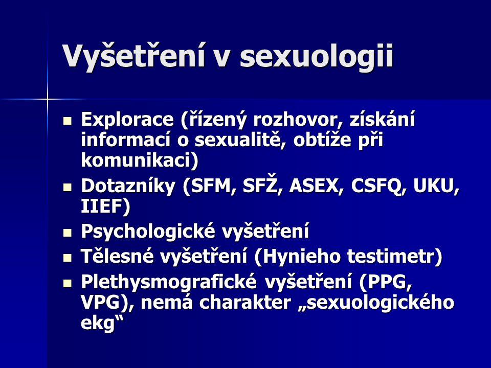 Vyšetření v sexuologii