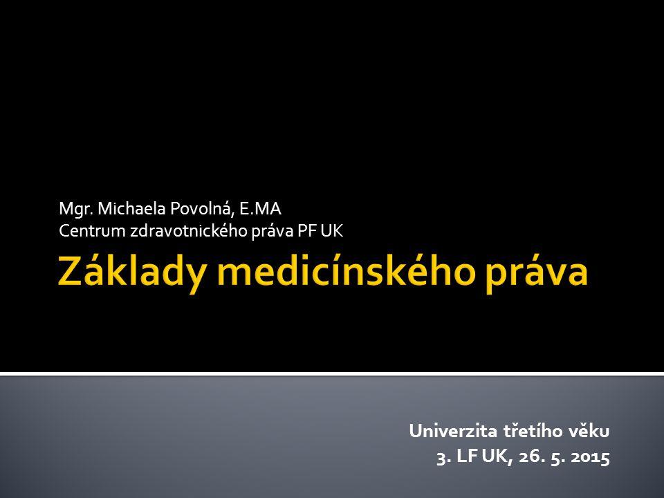 Základy medicínského práva