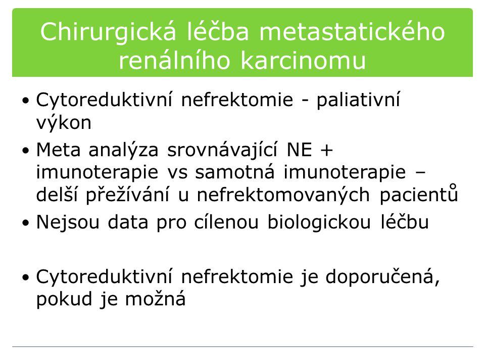 Chirurgická léčba metastatického renálního karcinomu