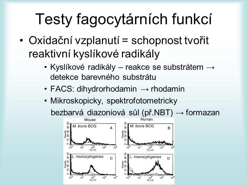 Testy fagocytárních funkcí