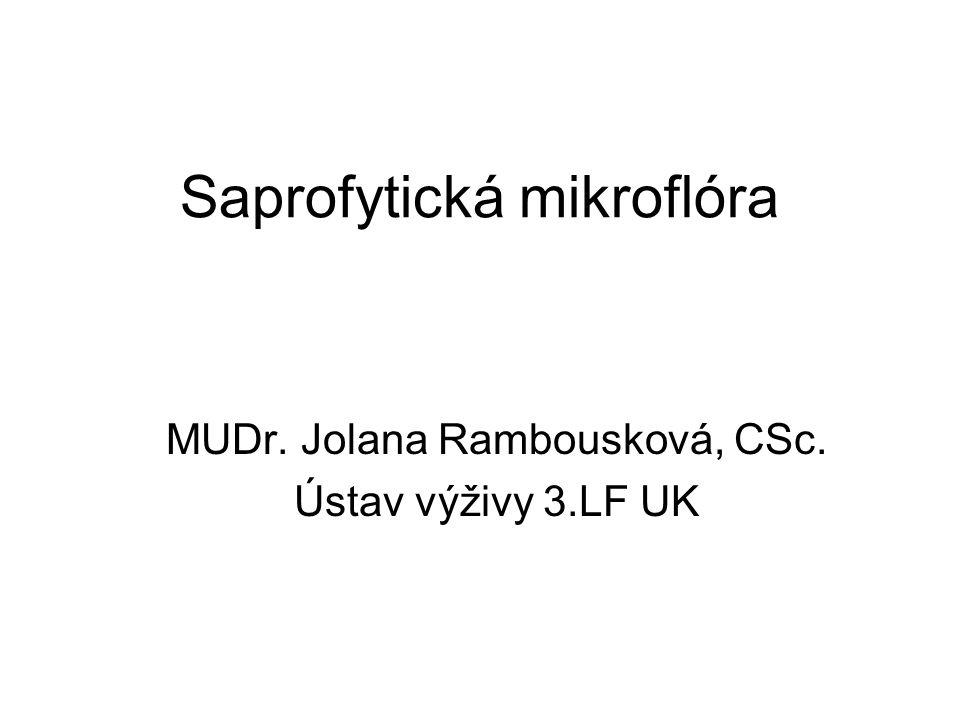 Saprofytická mikroflóra