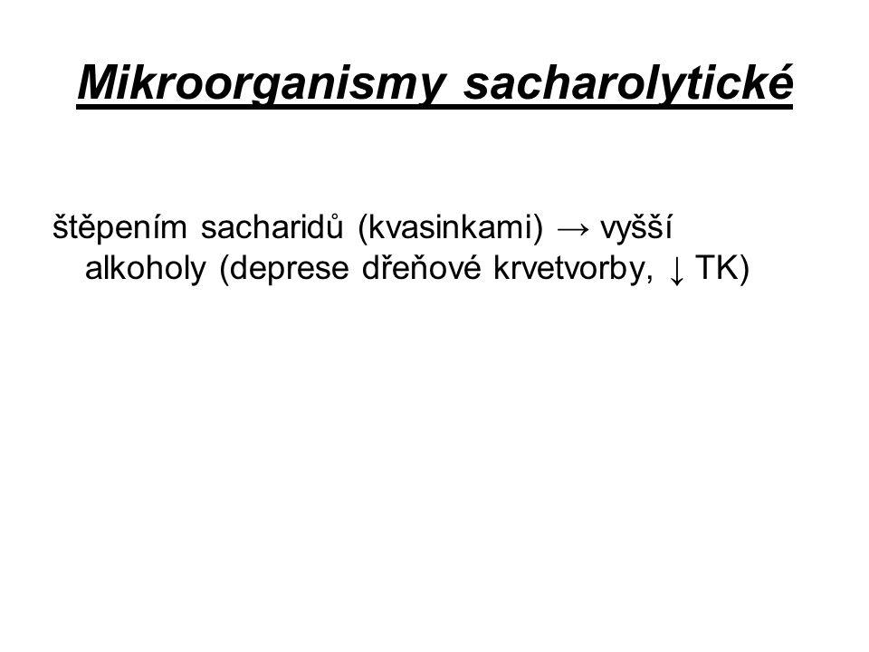 Mikroorganismy sacharolytické