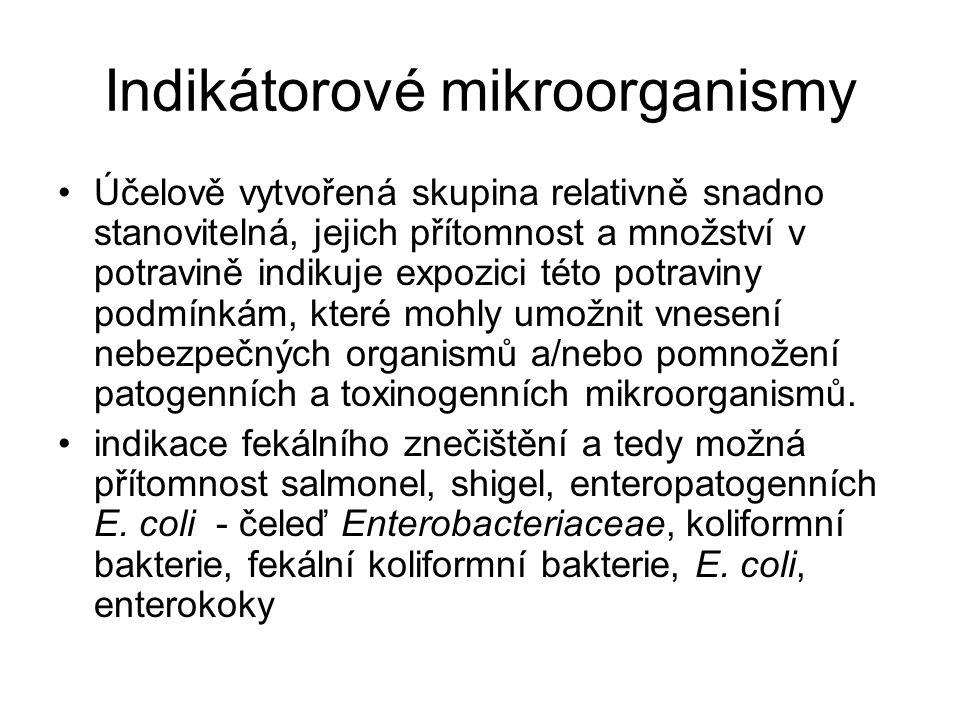 Indikátorové mikroorganismy