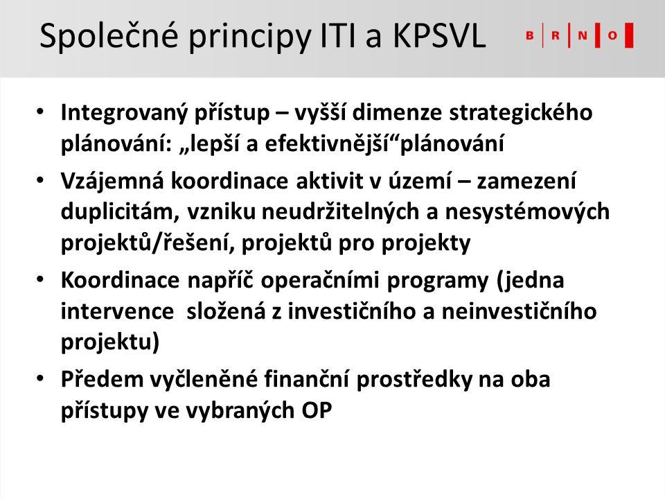 Společné principy ITI a KPSVL