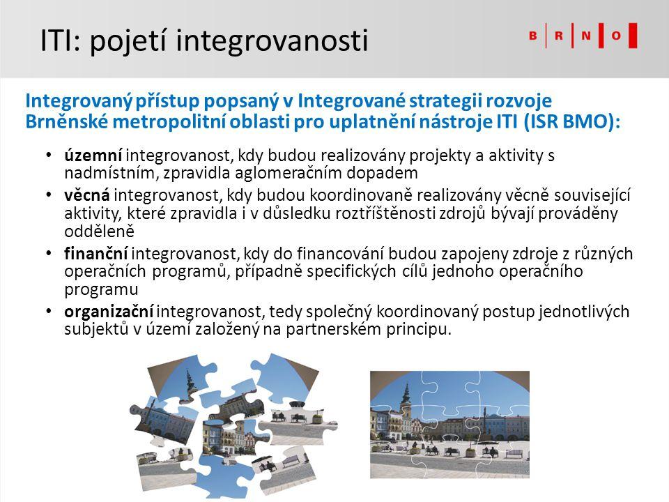 ITI: pojetí integrovanosti
