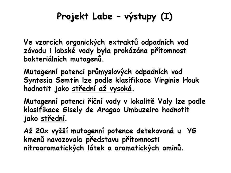 Projekt Labe – výstupy (I)