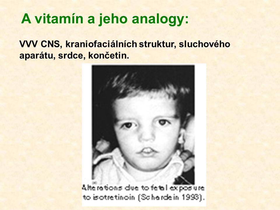 A vitamín a jeho analogy: