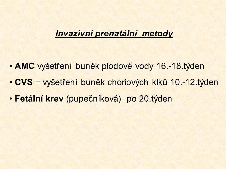 Invazivní prenatální metody