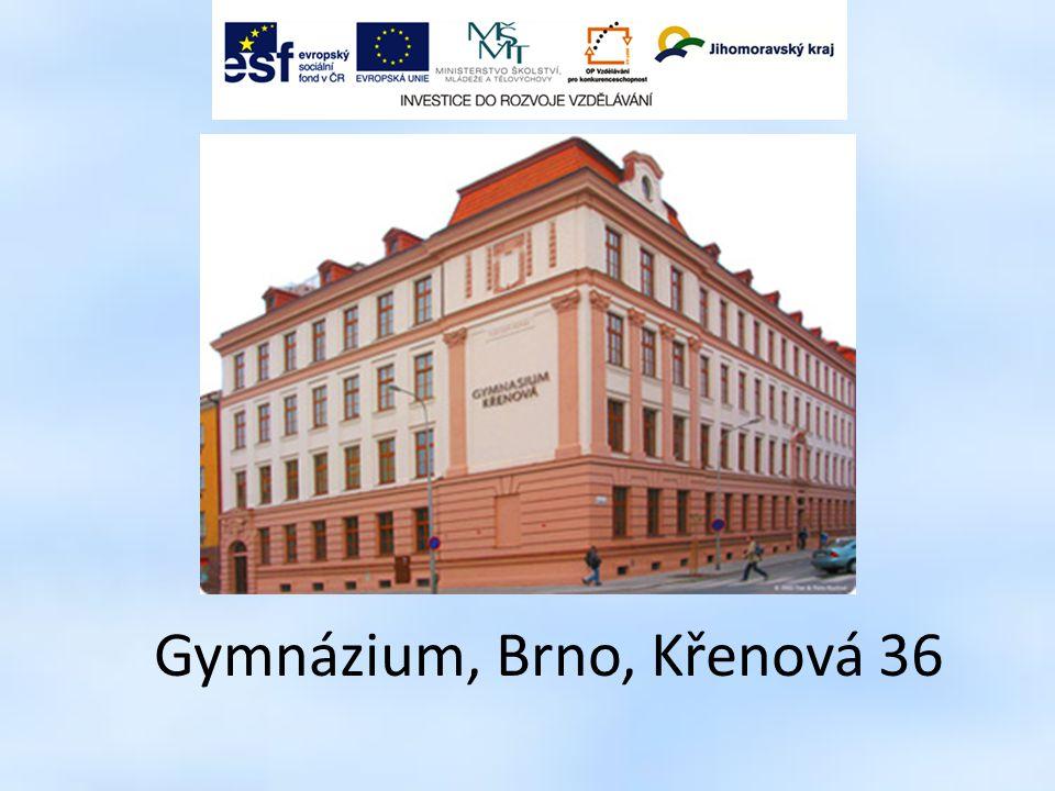 Gymnázium, Brno, Křenová 36