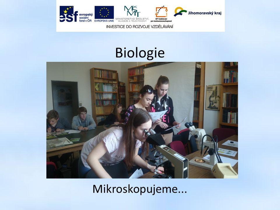 Biologie Mikroskopujeme... 9