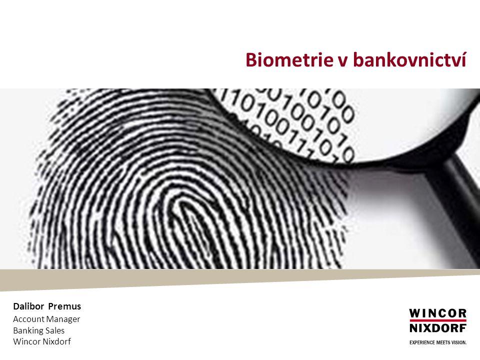 Biometrie v bankovnictví