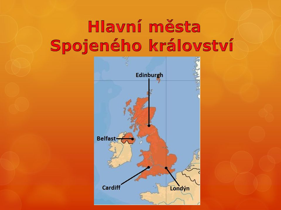 Hlavní města Spojeného království