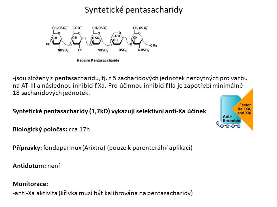 Syntetické pentasacharidy