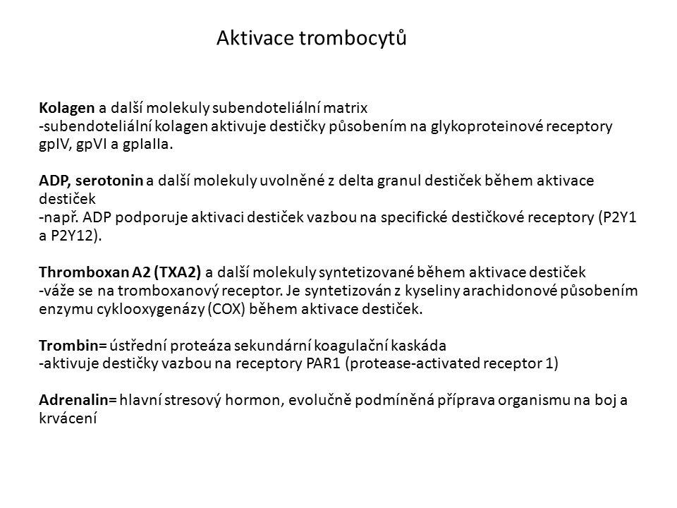 Aktivace trombocytů