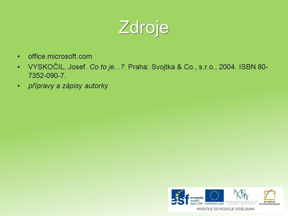 Zdroje office.microsoft.com
