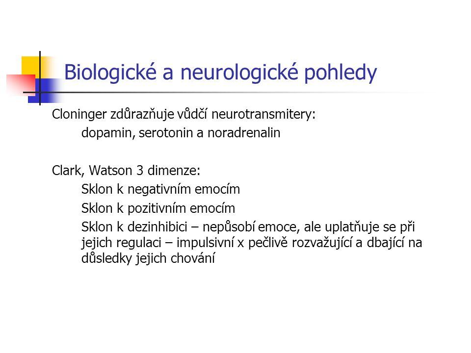 Biologické a neurologické pohledy