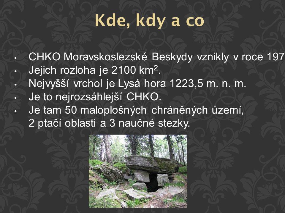 Kde, kdy a co CHKO Moravskoslezské Beskydy vznikly v roce 1973.
