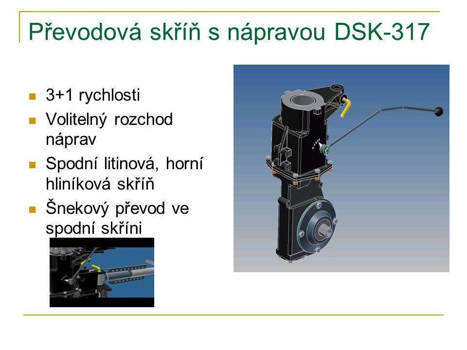 Převodová skříň s nápravou DSK-317