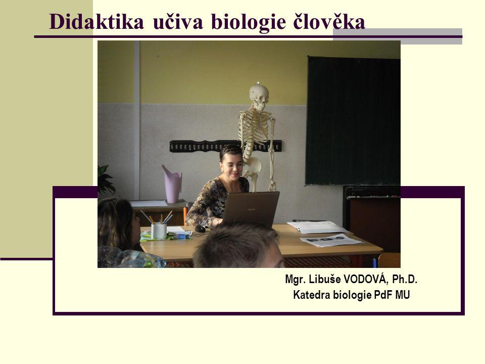 Didaktika učiva biologie člověka