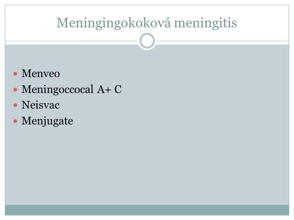 Meningingokoková meningitis