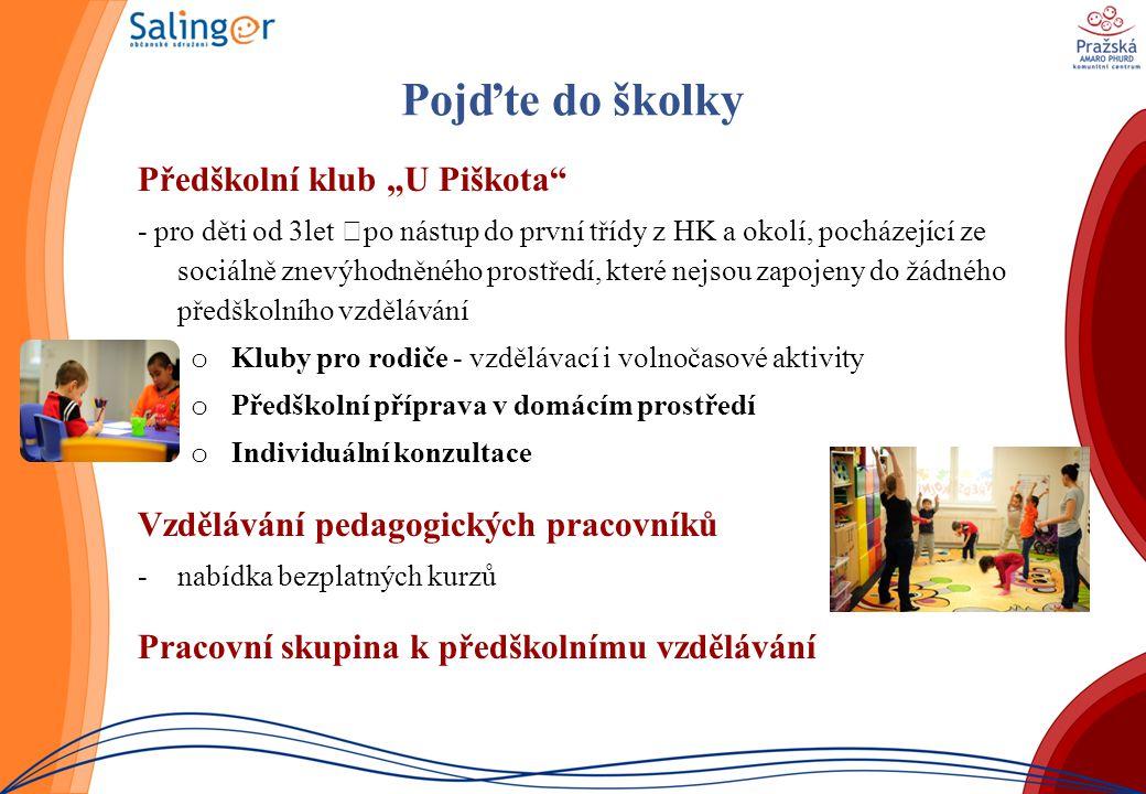 """Pojďte do školky Předškolní klub """"U Piškota"""