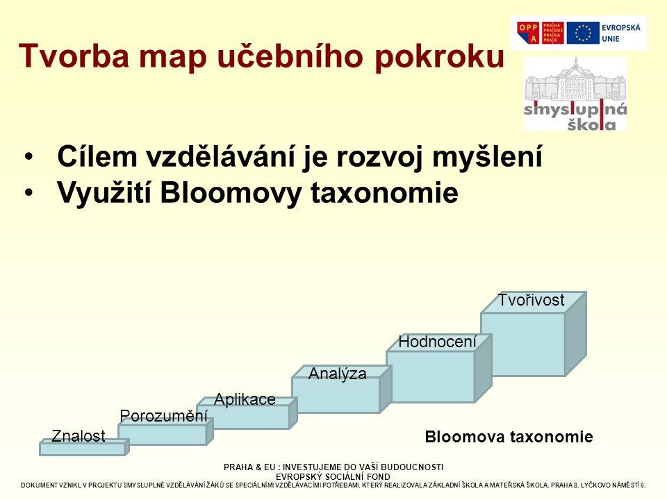 Tvorba map učebního pokroku