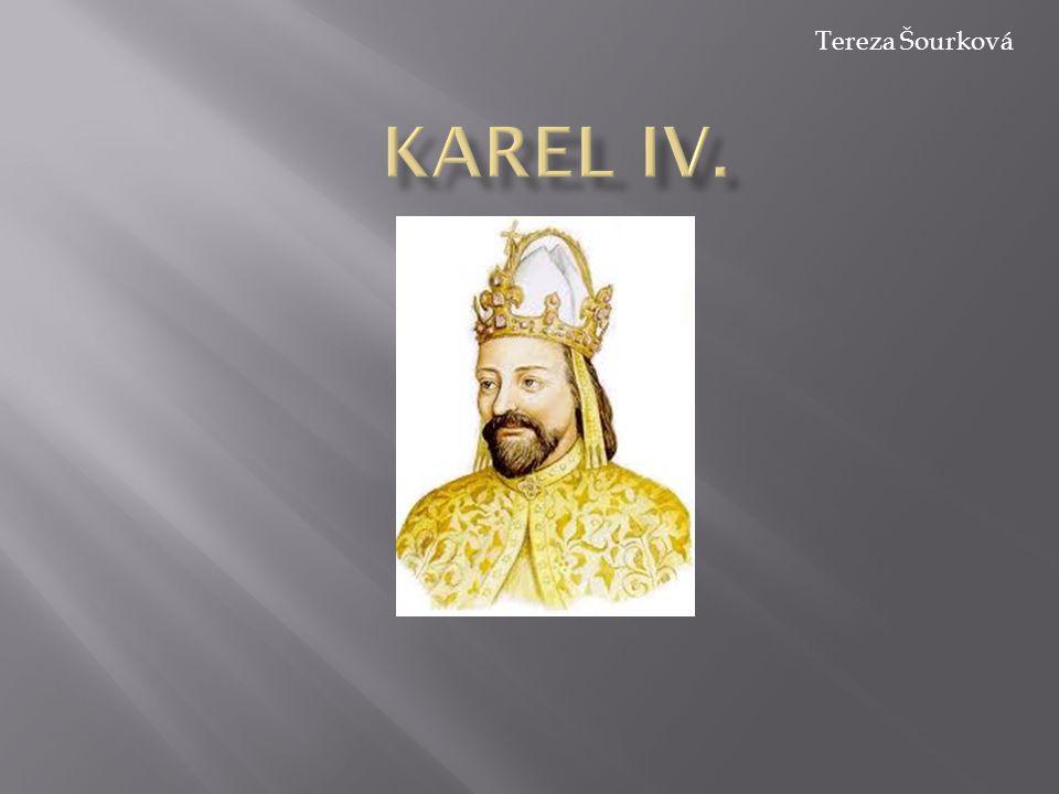 Karel IV. Tereza Šourková