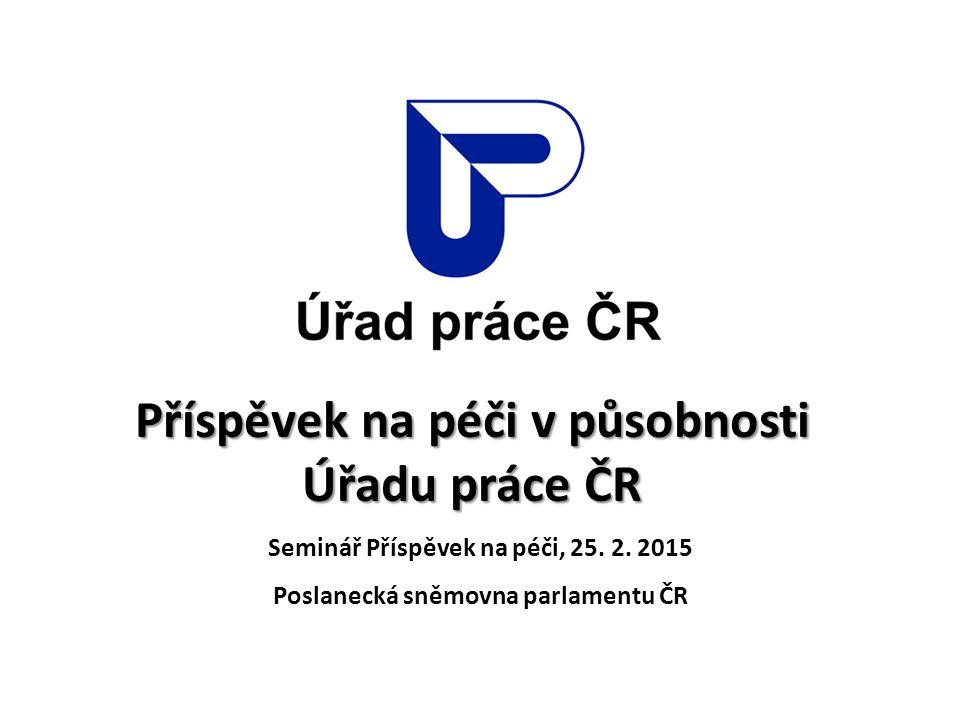 Příspěvek na péči v působnosti Úřadu práce ČR