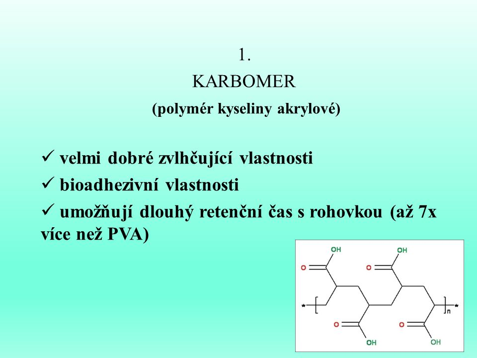 (polymér kyseliny akrylové)