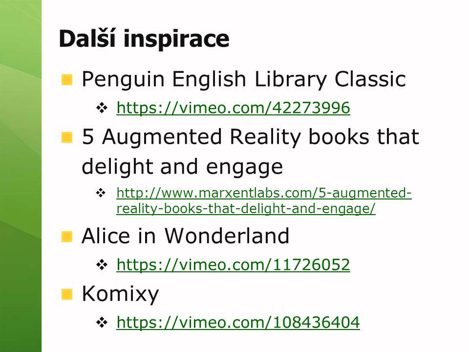 Další inspirace Penguin English Library Classic