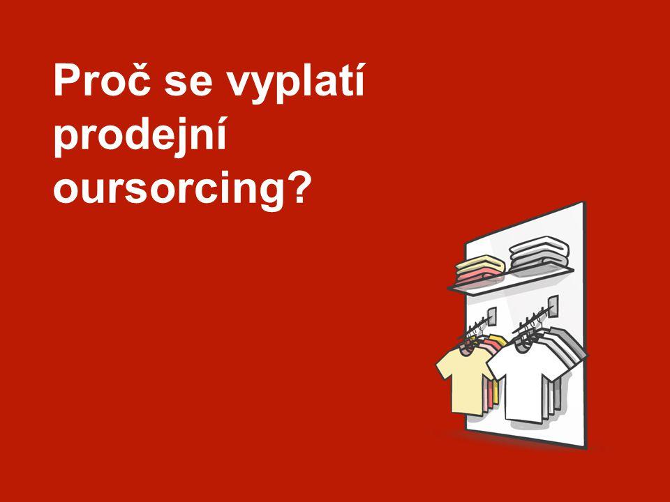 Proč se vyplatí prodejní oursorcing