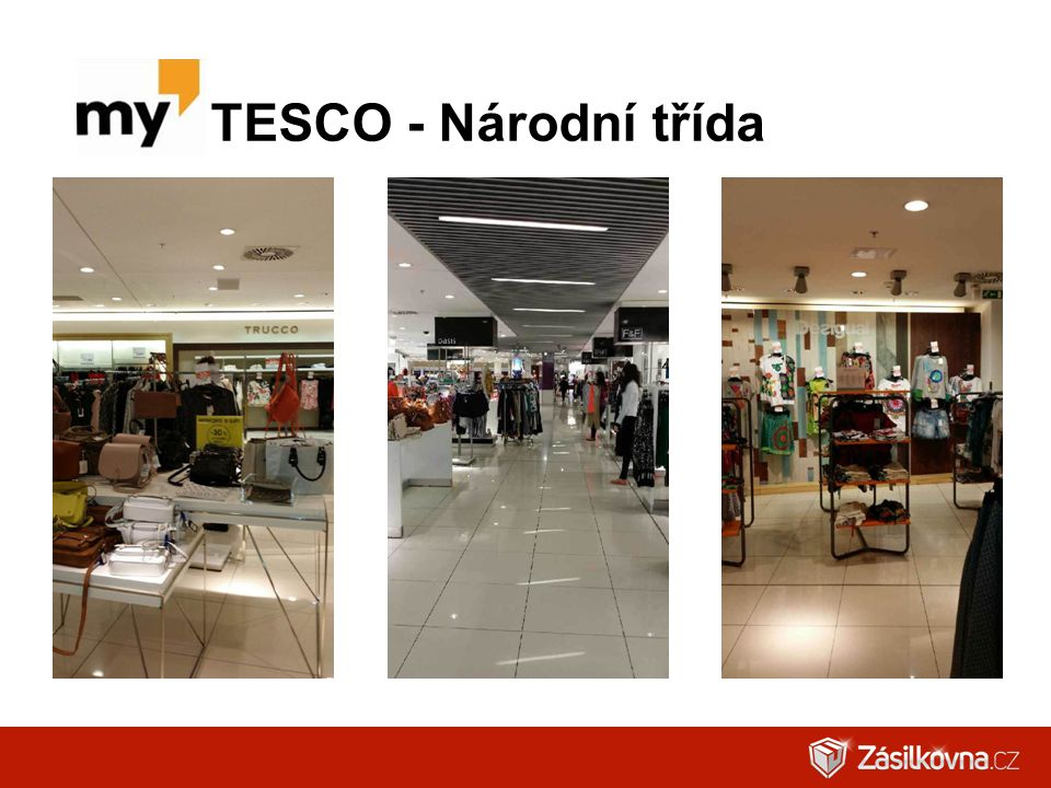 TESCO - Národní třída
