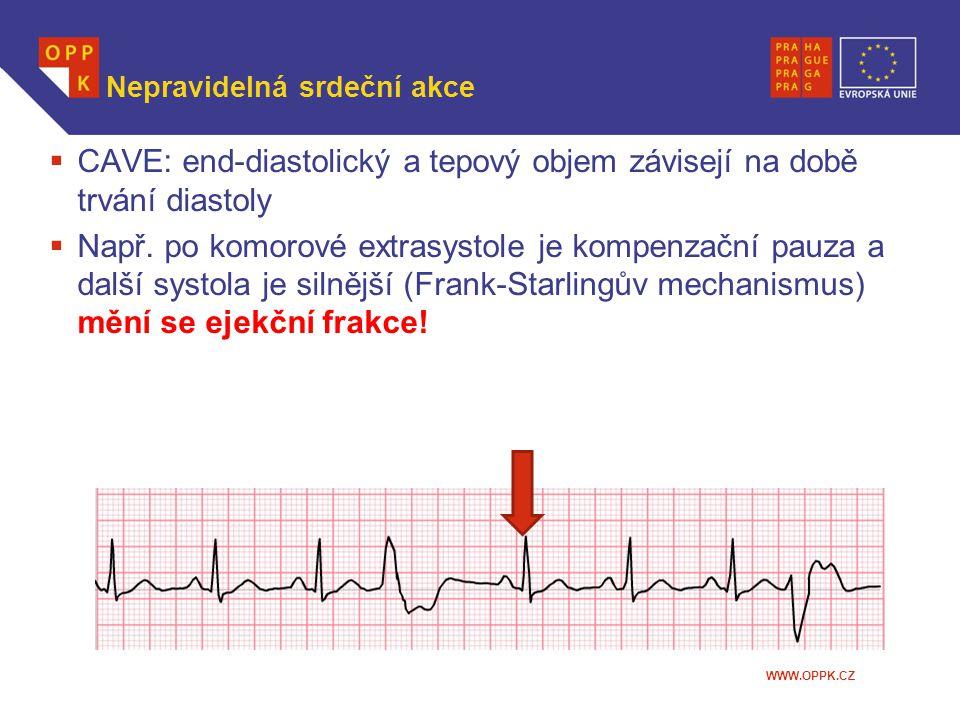 Nepravidelná srdeční akce