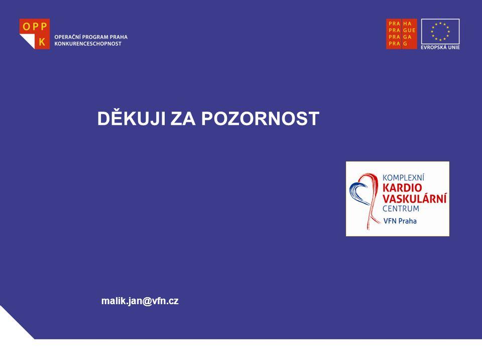 DĚKUJI ZA POZORNOST malik.jan@vfn.cz