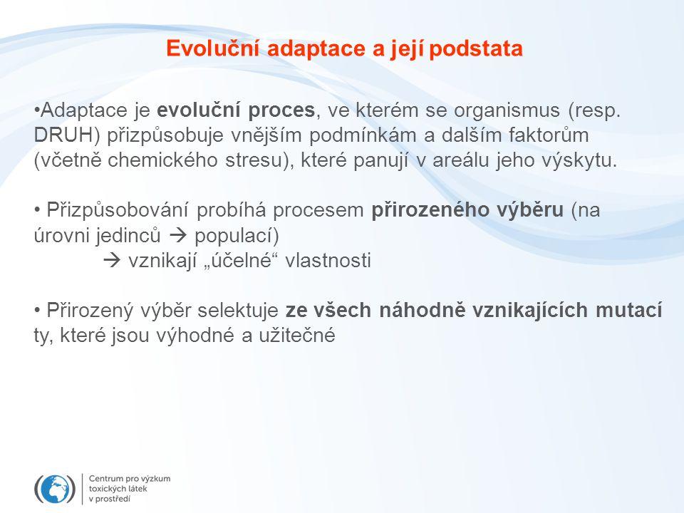Evoluční adaptace a její podstata