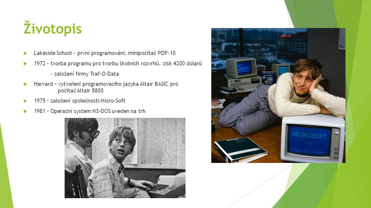Životopis Lakeside School – první programování, minipočítač PDP-10