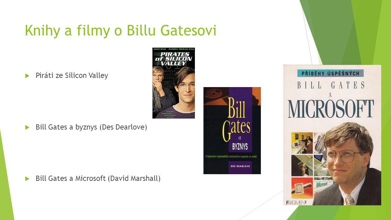 Knihy a filmy o Billu Gatesovi