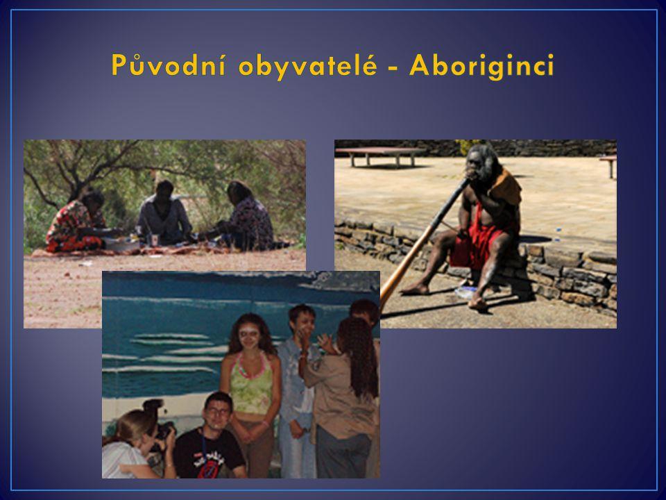 Původní obyvatelé - Aboriginci