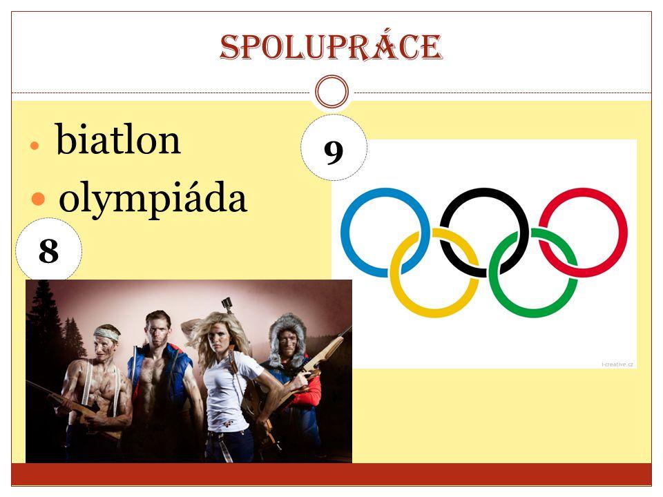 Spolupráce biatlon olympiáda 9 8