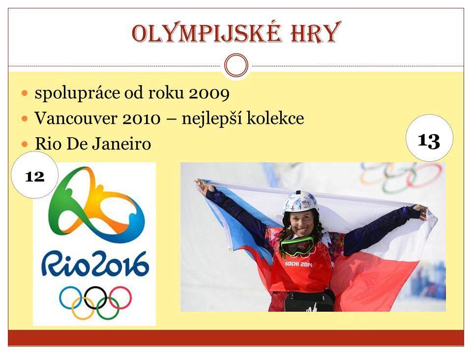 Olympijské hry 13 12 spolupráce od roku 2009