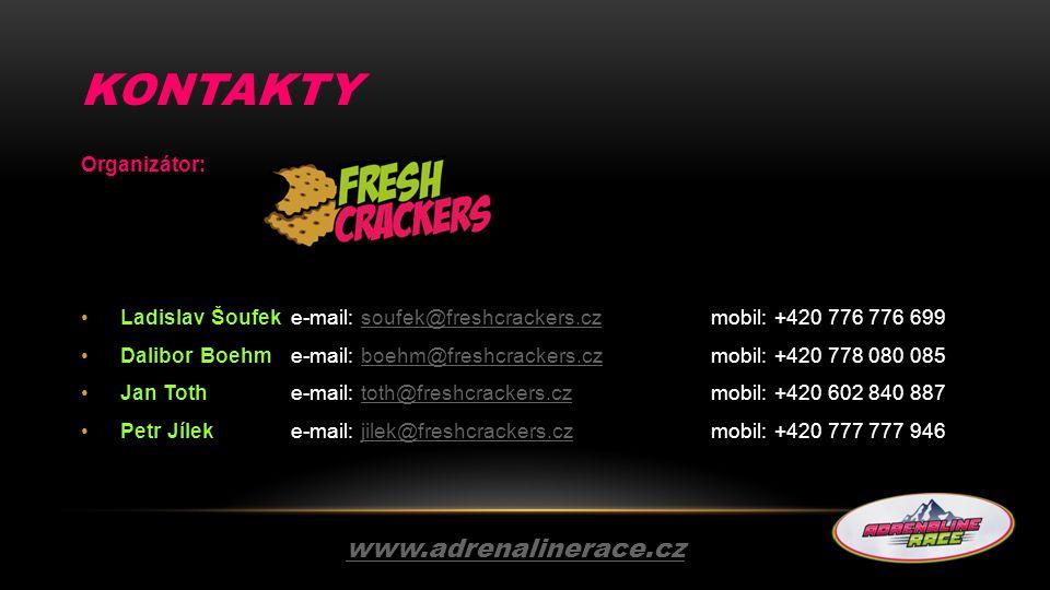 KONTAKTY www.adrenalinerace.cz Organizátor:
