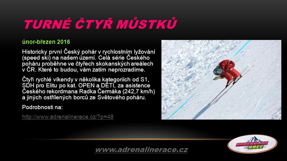 Turné čtyř můstků www.adrenalinerace.cz